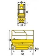 Ножничный подъемник Haulotte Compact 8