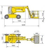 Коленчатый подъемник Hаulоttе НA 12 IP