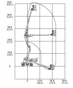 Коленчатый подъемник JLG E 450 AJ