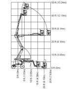 Коленчатый подъемник JLG 450 AJ